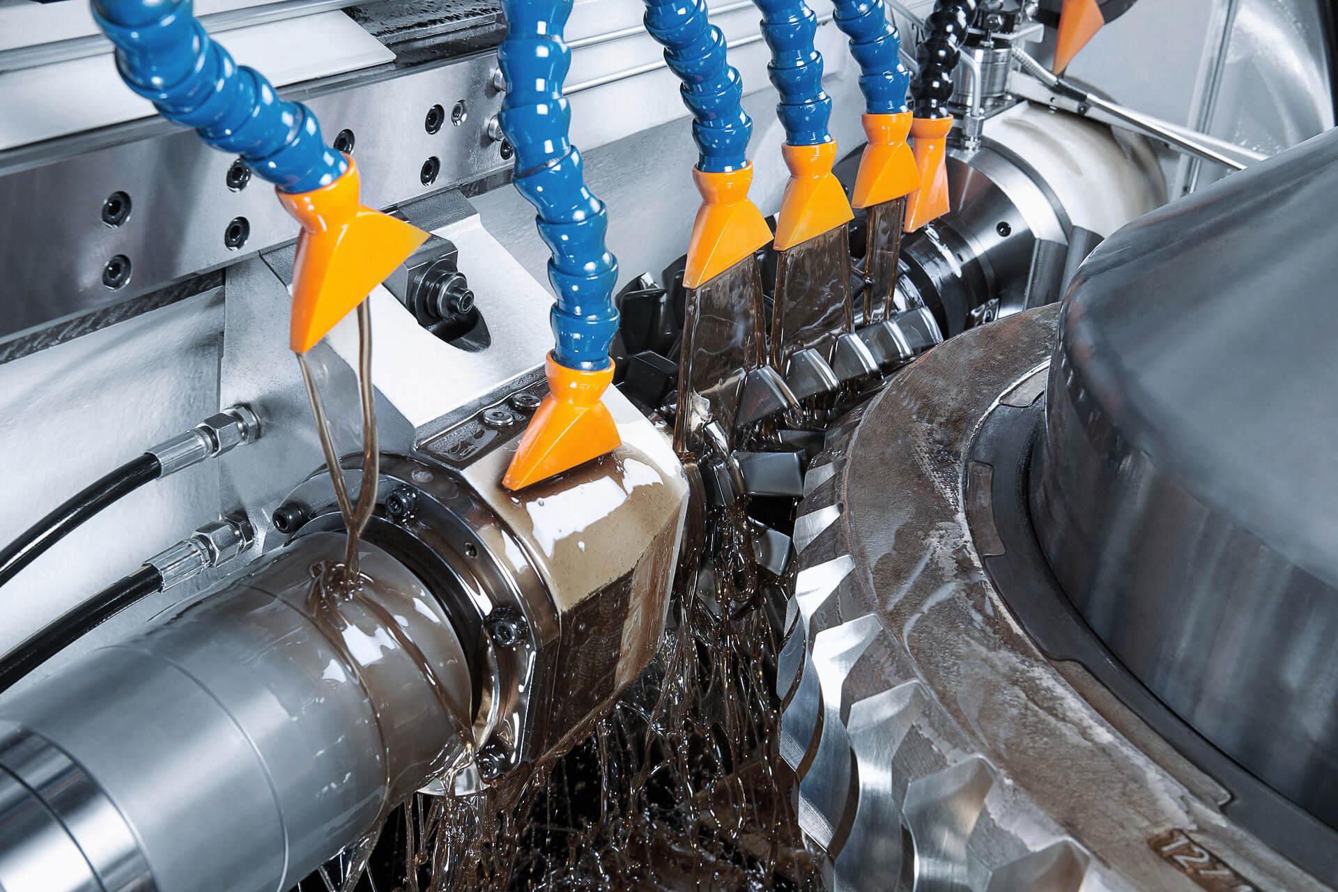 Industriegetriebe im Einsatz