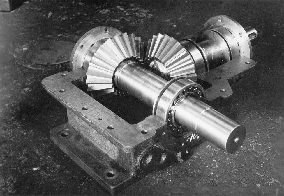 Historical gear units