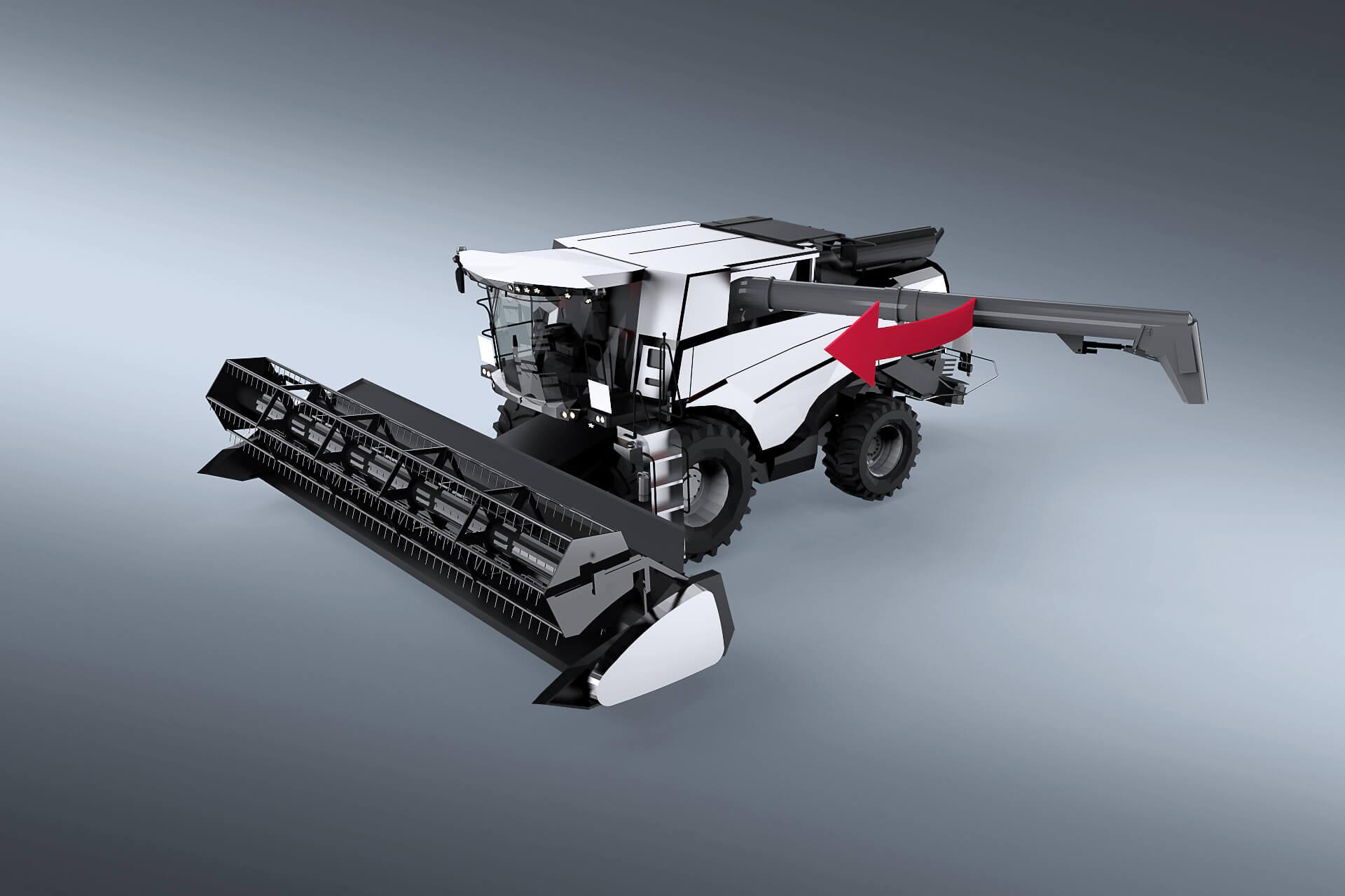 Drehwerks- und Stirnradgetriebe für Agrartechnik