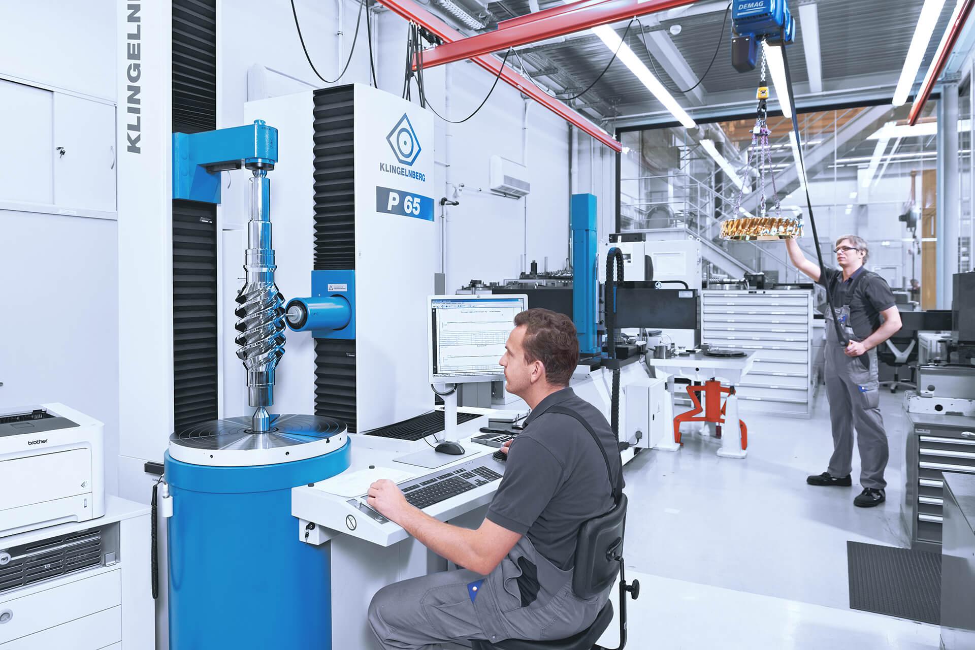 Quality management at AUMA Drives