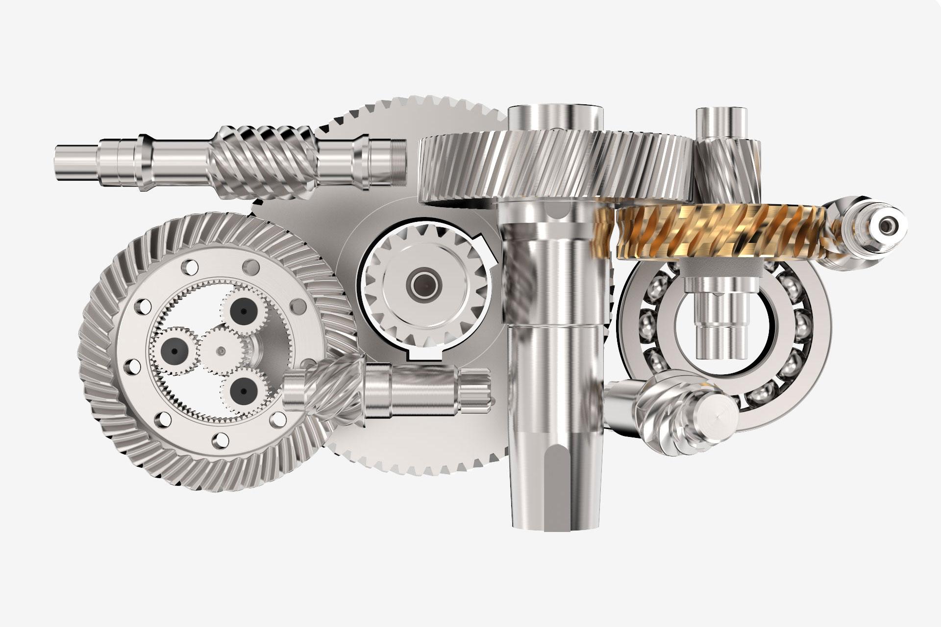AUMA Drives Spezial-Getriebe
